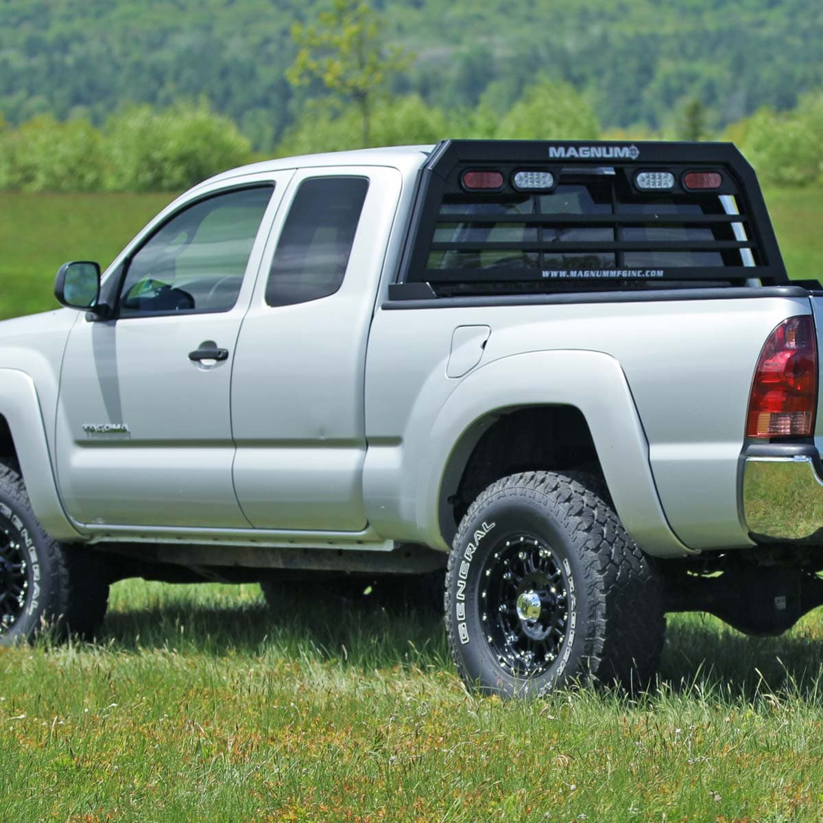 truck rack with lights low pro
