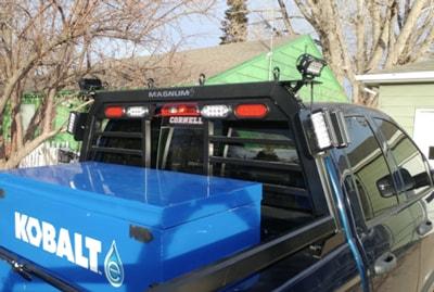 no drill magnum truck headache rack