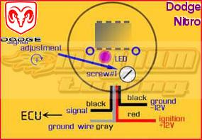 Dodge Nitro O2 Sensor Eliminator MAGNUM EZ CEL FIX Oxygen