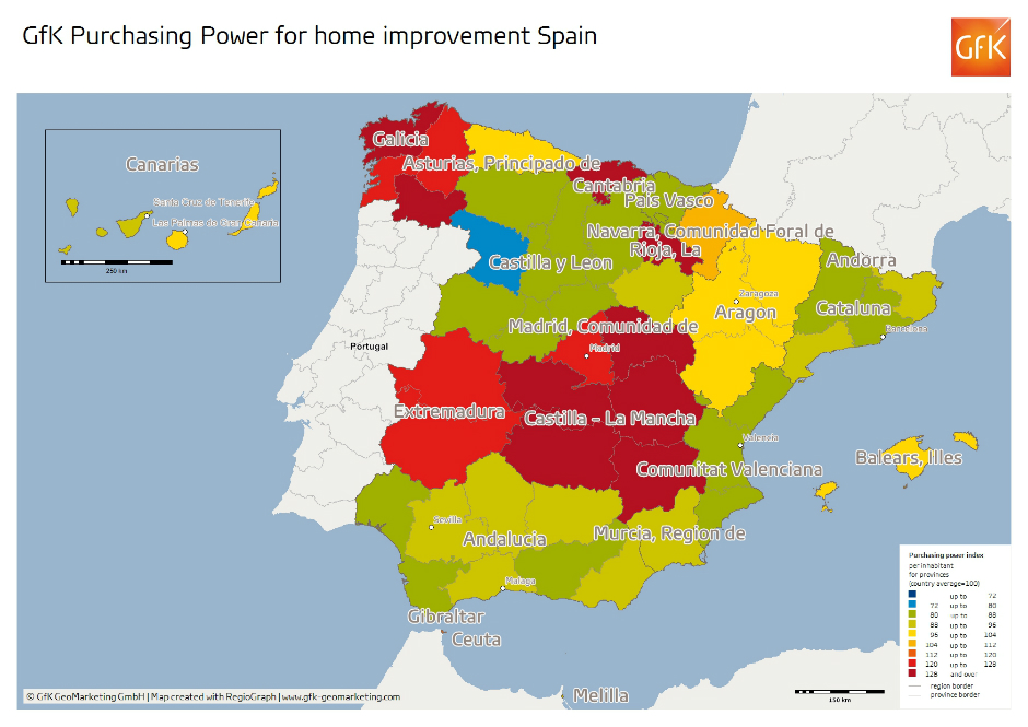 Spain Provinces 16 home improvement items index_1