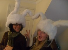 """Believe it or not but these are """"Skiing Helmets""""!"""