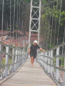 Steady there girl!..Not exactly the Patomac Bridge,..but non the less!
