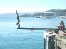 New Zealanders just love the water.