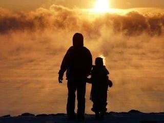 自然と親子