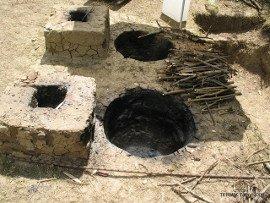 Hagyományos bronzkori tűzhely