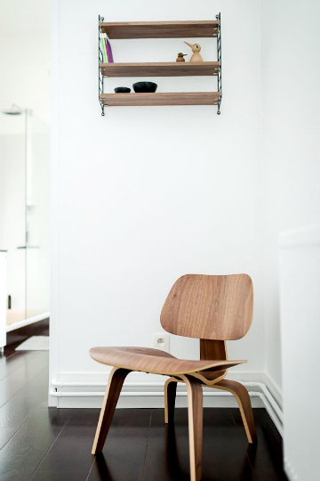 vitra plywood series chair