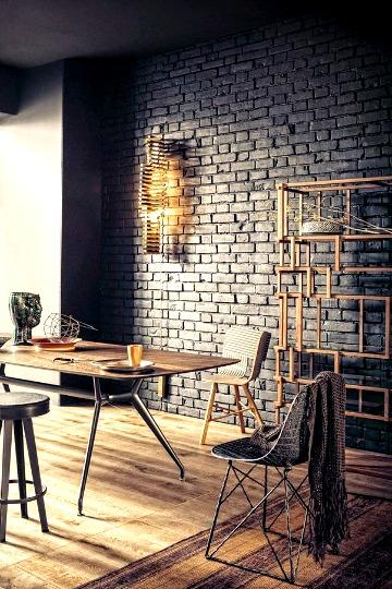 black walls