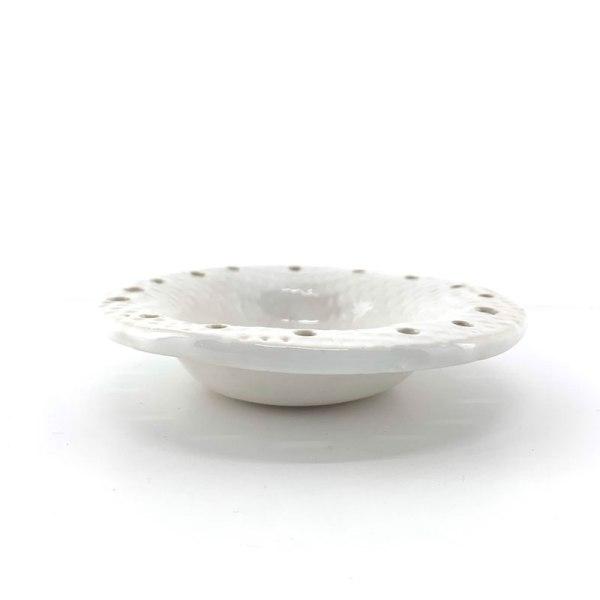 white jewelry bowl