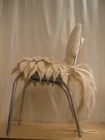 Chair with Felt Plumage