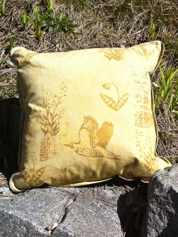 flicker pillow