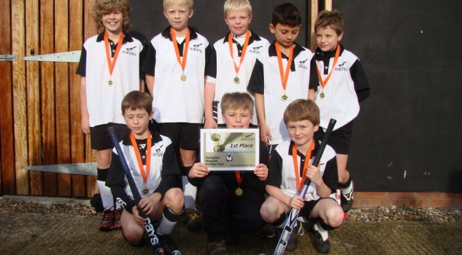 Under 11 teams at Magpies Mini Tournament