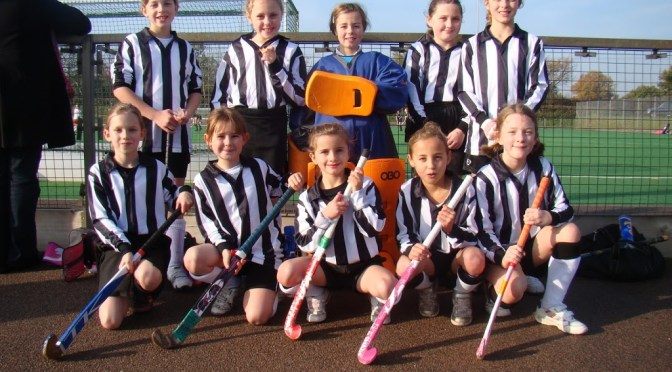 Magpies Girls Mini Teams in Action