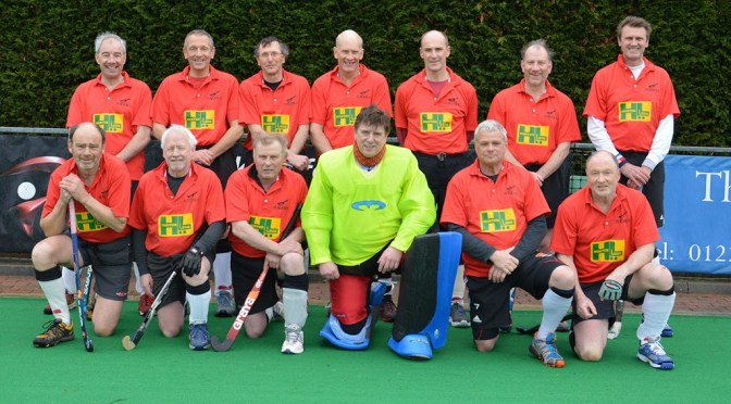 O50s in the semi-final of the EHB Masters Cup – photo