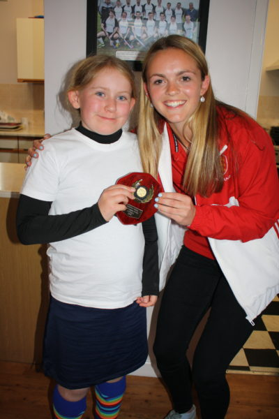 U11 Most Improved Girl