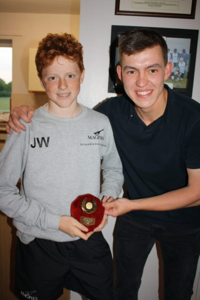 U14 Most Improved Boy