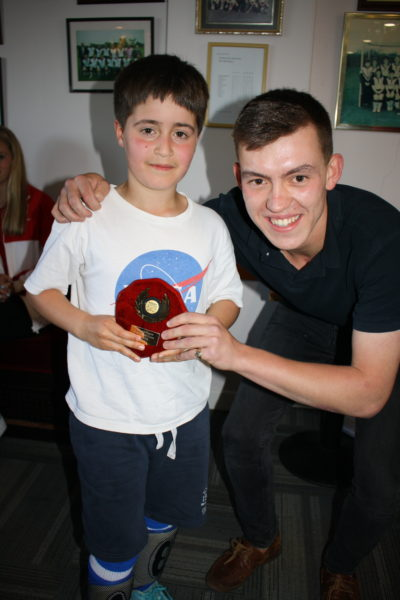 U9 Most Improved Boy