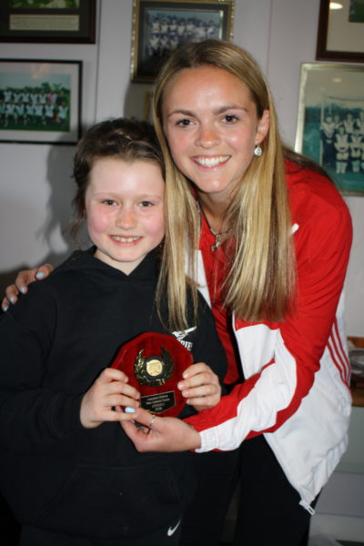U9 Most Improved girl