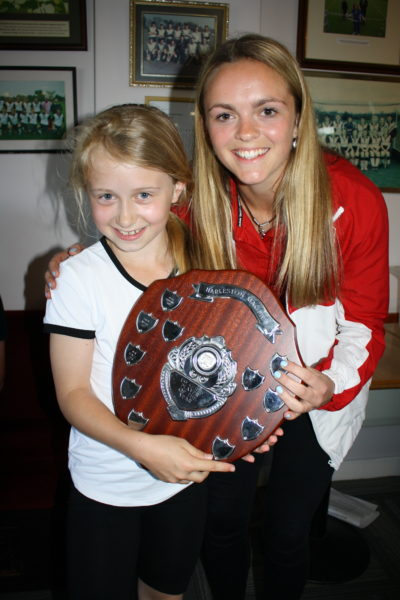 U9 Player of Season Girl