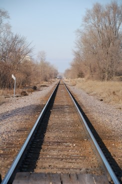 Railroad heading to Kasota