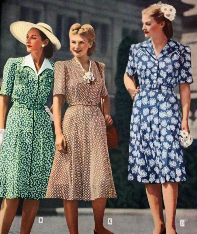 1940s vintage mother of the bride by The National Vintage Wedding Fair