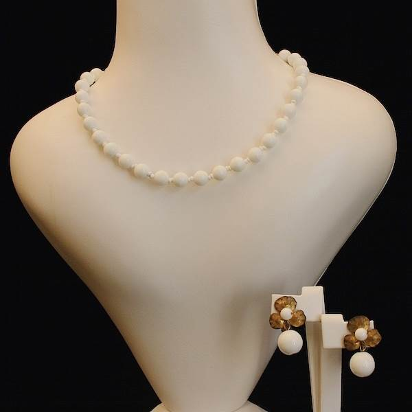 Parure, Miriam Haskell  Available at Gemma Redmond Vintage