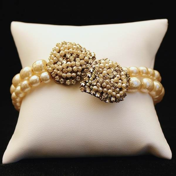 Bracelet, Miriam Haskell available at Gemma Redmond Vintage