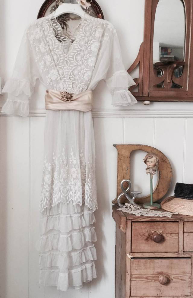 Vintage Wedding Dress from Days of Grace at the National Vintage Wedding Fair