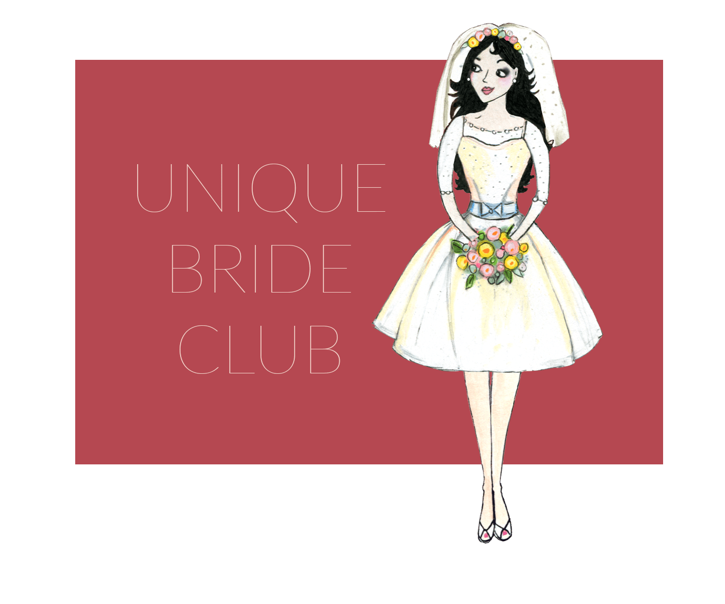 Join Unique Bride Club for hand picked offers and DIY tutorials