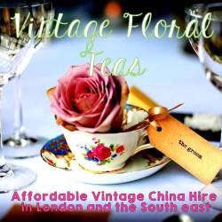 Vintage Floral Teas