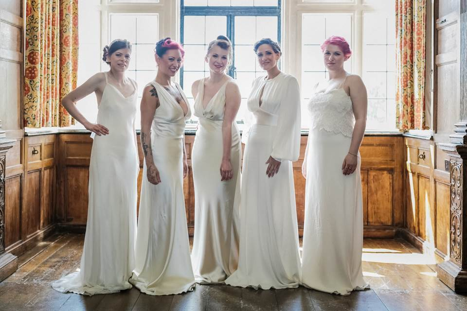 Greenwich, London Vintage Wedding Dress Fashion Parade