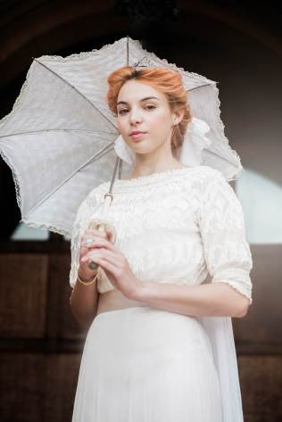 Edwardian Vintage Wedding by Claire Macintyre and the National Vintage Wedding Fair