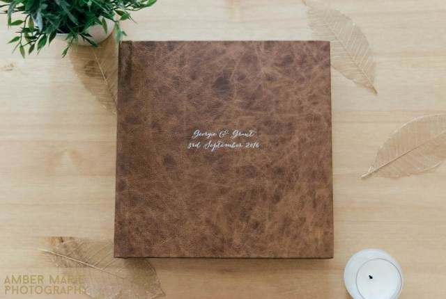 Do you need to order a photo album of your wedding photos by Amber Marie Photography