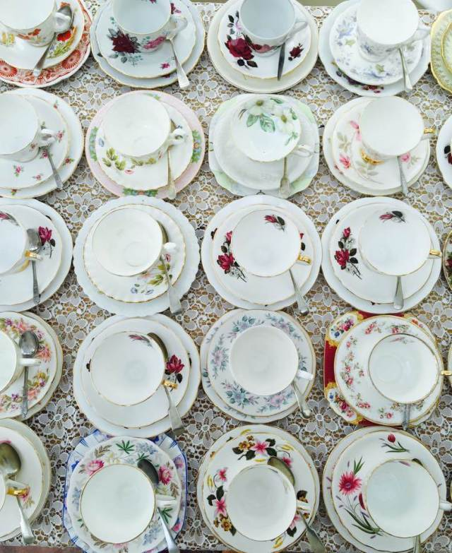 Why afternoon tea makes the perfect wedding breakfast by Rose & Olive for The National Vintage Wedding Fair
