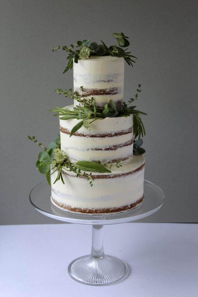 Wedding Cake Trends Botanical 2