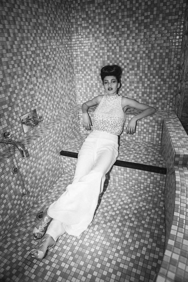 Elvis and Priscilla Presley Styled 1960s wedding shoot