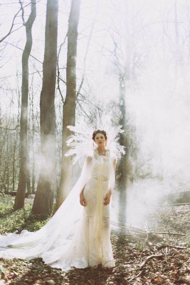 A woodland fairy tale wedding styled shoot