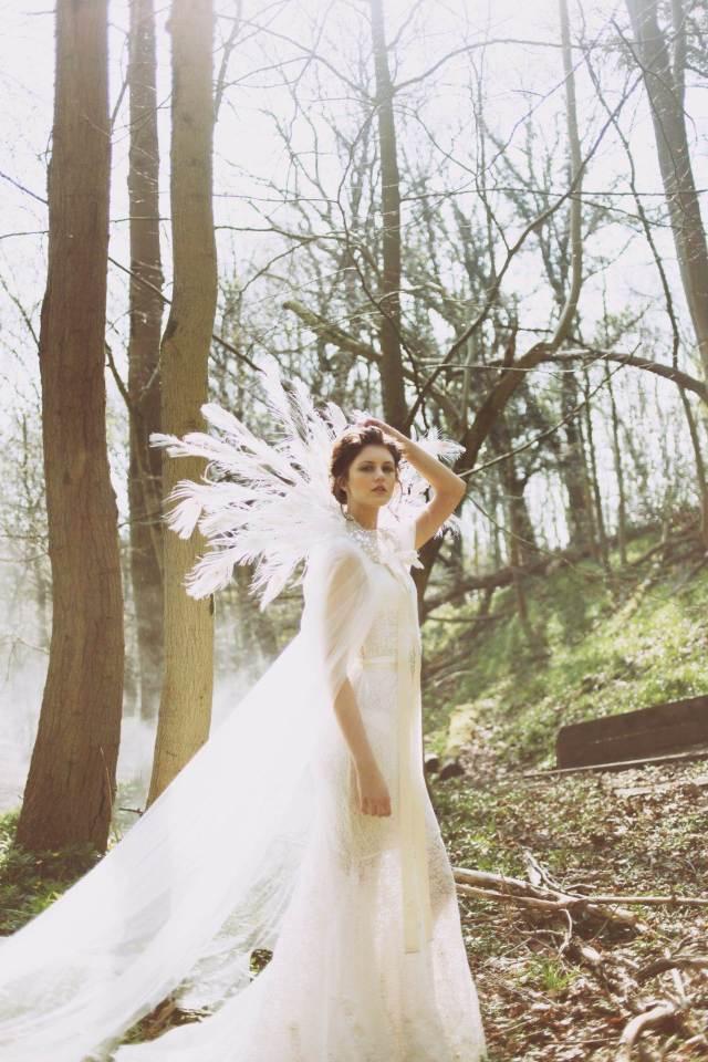 A woodland fairy tale wedding styled shoot