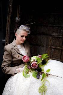 A Couture Punk Autumnal Wedding Look