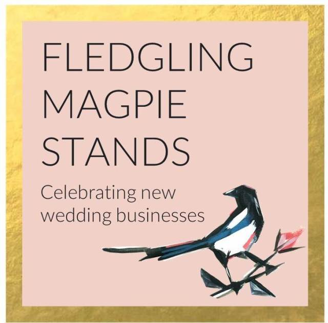 Fledgling Magpie Wedding Stands