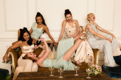Woburn x BowenDryden Badass Alternative Bridesmaid Collection