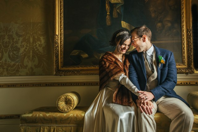 An 1920's Art Deco Themed Wedding at Hedingham Castle