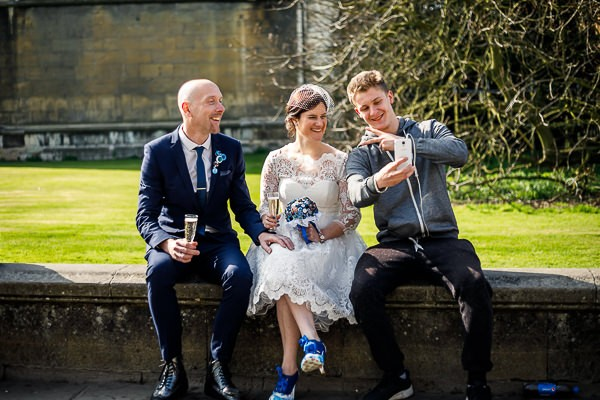 Alternative Geek Chic Cambridge Wedding