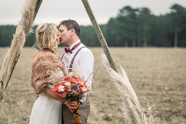 Bold and Beautiful Boudica Shoot - Inspirational and Empowering for the Modern Day Bride