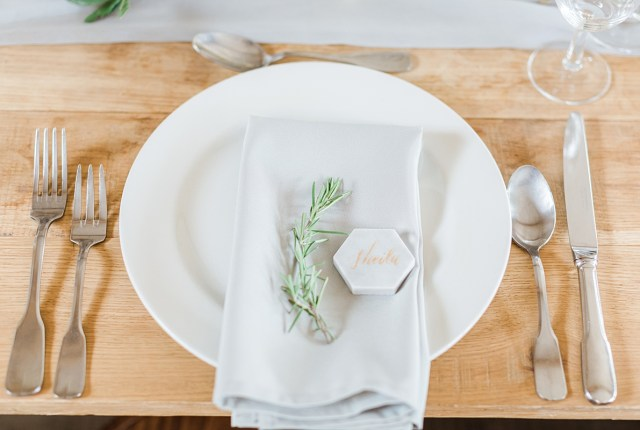 Stacked Place Settings - How To Add The WOW Factor To Your Wedding Day Tables