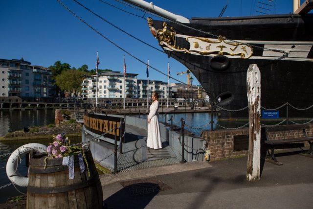 Alternative Wedding Ideas - SS Great Britain Vintage Boat Wedding