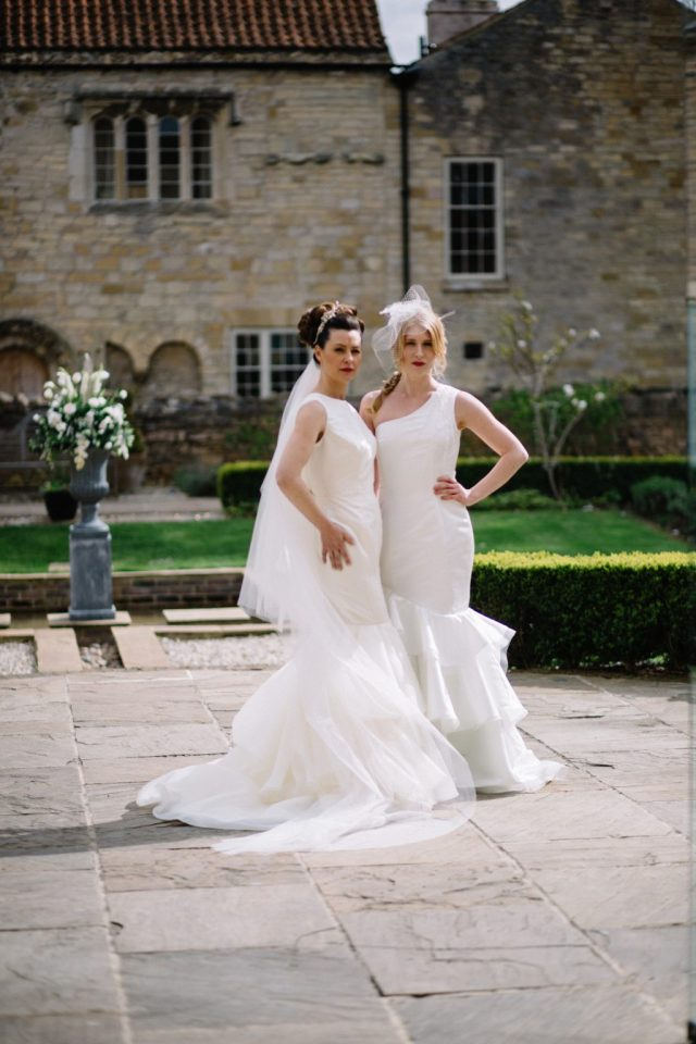Classic Wedding with Bespoke Bridalwear and Ivory and Gold Styling