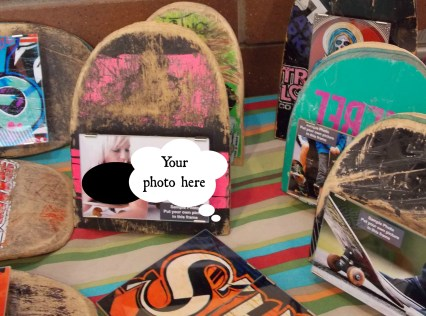 reclaimed skateboard frames