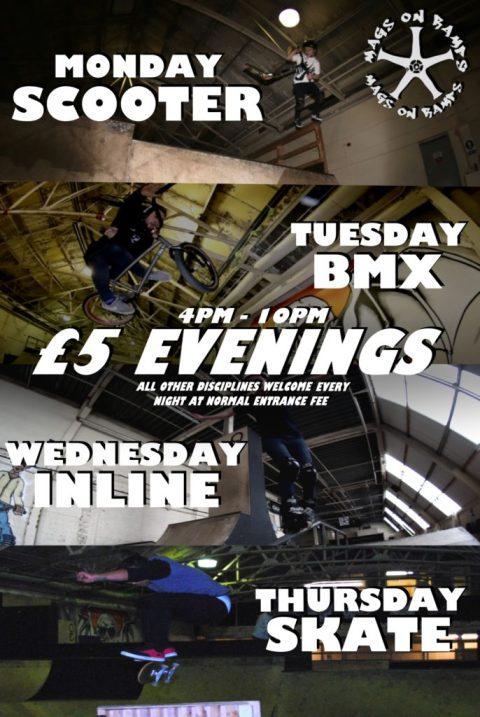 5 evenings