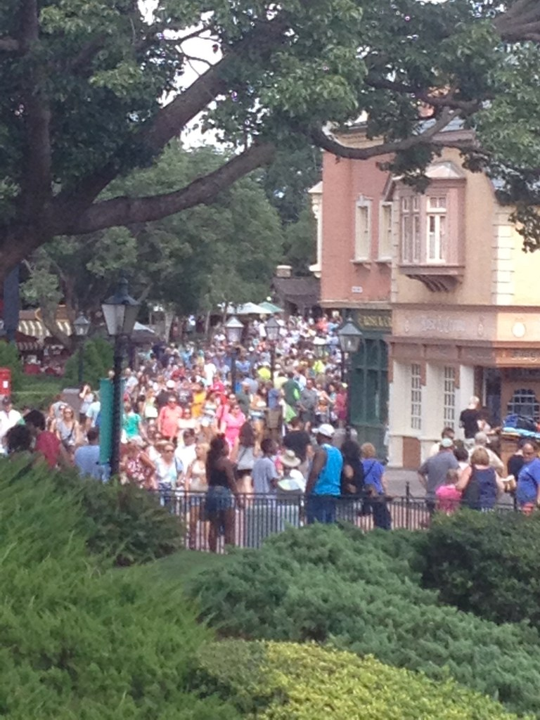Epcot crowds