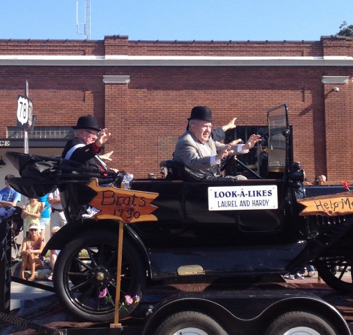 The Oliver Hardy Festival in Harlem, GA